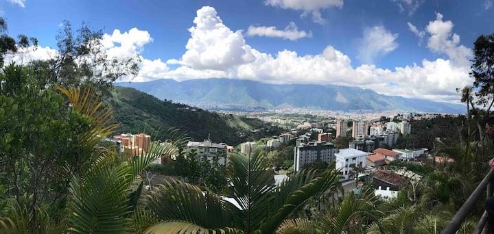 La mejor vista de Caracas - Los Naranjos