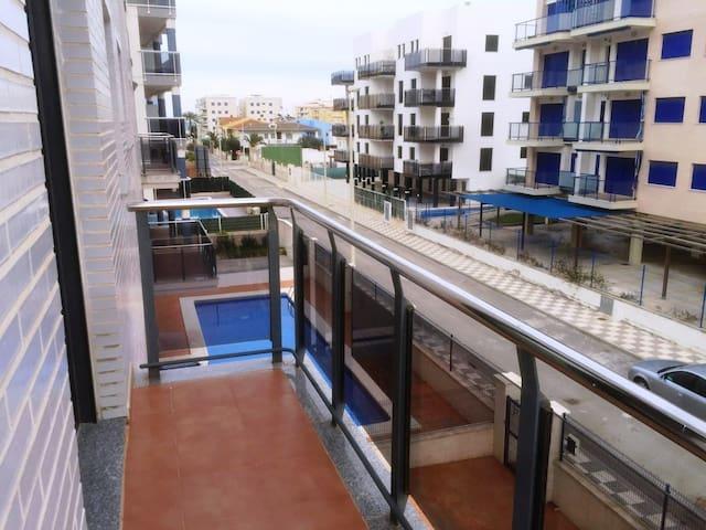 Apartamento a 400 metros de la playa Bellreguard - Bellreguard - Apartment