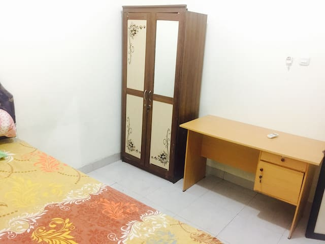Bedroom, AC, Bathroom @galileakost - manado - Apartment