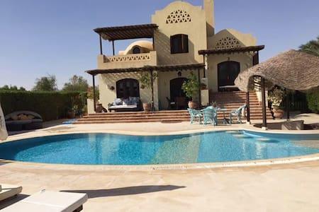 Free standing Villa am Lagoon mit Pool