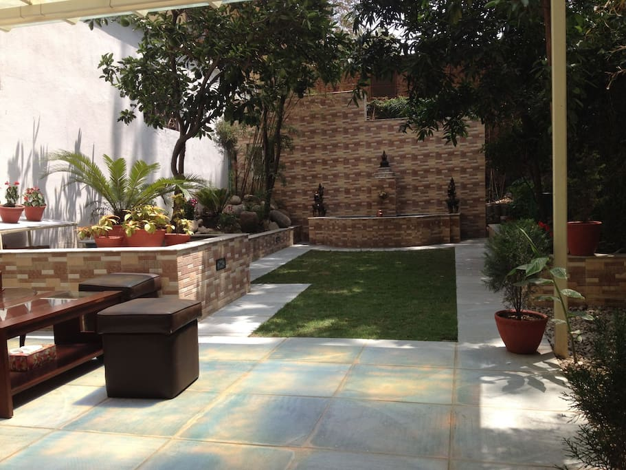 Garden to chill and immerse yourself in nature.