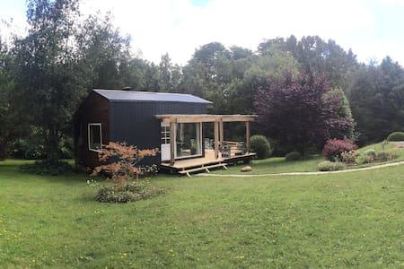 Comoda y amplia cabaña en gran parque
