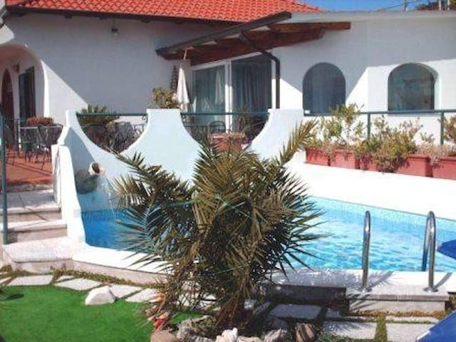 Casa Turchese, Furore, panorama-view, pool parking - Furore - Apartment