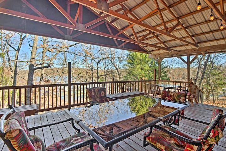 Waterfront House w/ Private Dock on Lake Eufaula!