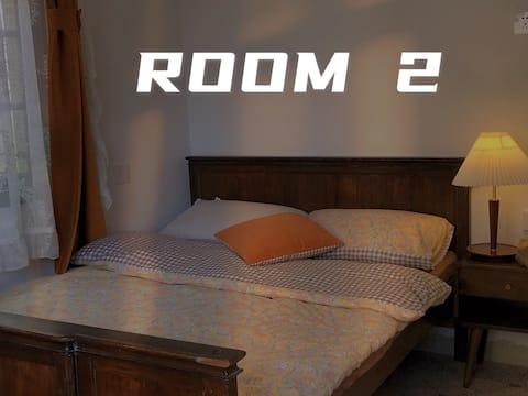 【离谱院·莫奈黄昏】独栋|独立两室|可住4人|商用投影|享受慢生活|民德路|近万力时代商圈