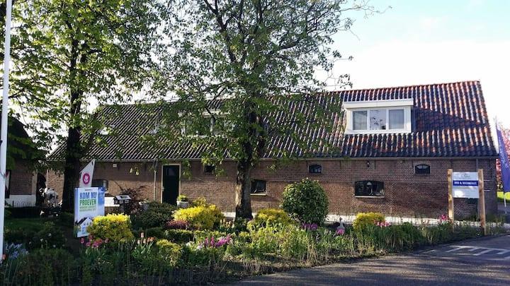 Appartement op biologische melkveehouderij Kaag