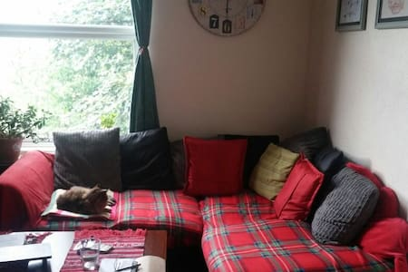 Cosy double room right next to lovely Hyde Park - Leeds - 公寓