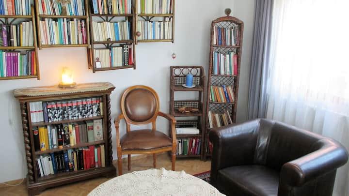 Zimmer des verliebten Poeten-Zentrum-See-Wandern