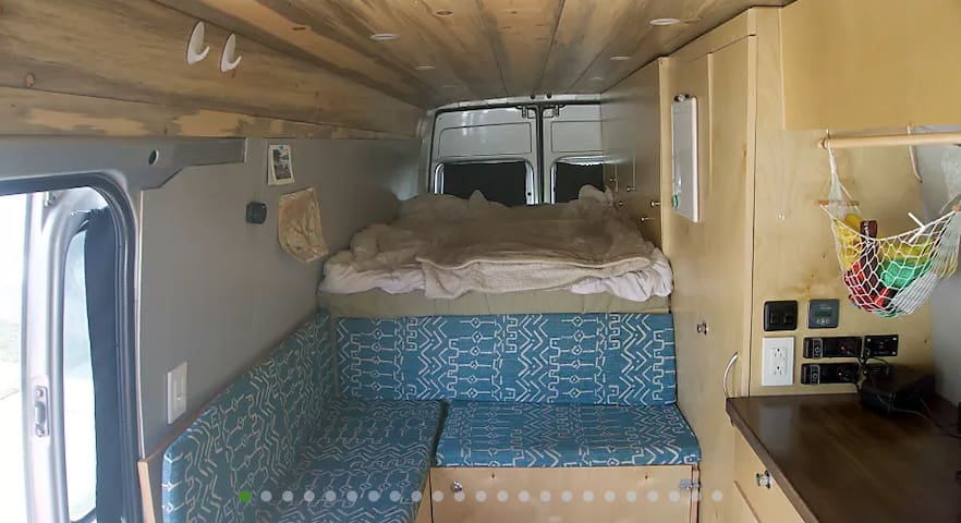 Self-Converted Sprinter Van