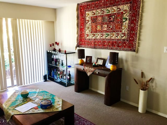 Fully Furnished, Large Private Room
