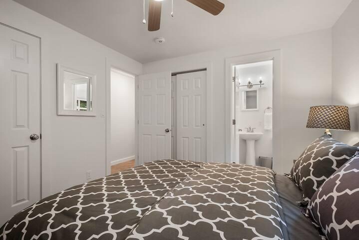 Master Bedroom w/Half Bath