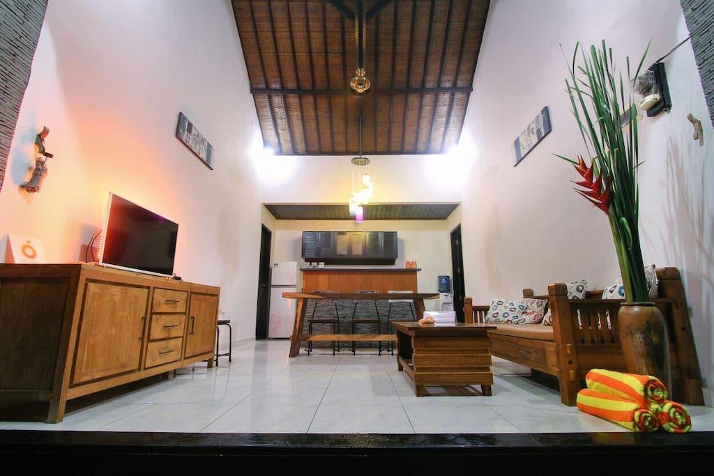 The open livingroom