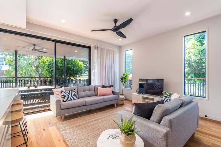 Bulimba on the Park☆Close to Ferry & Entertainment