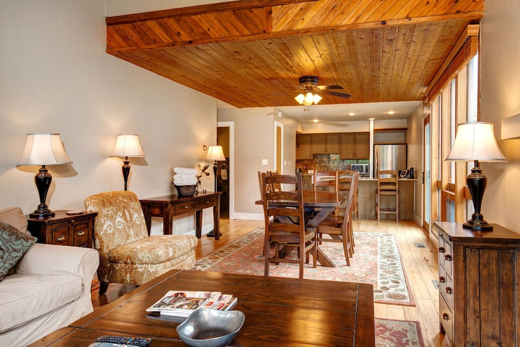 Heated floors expand your Park City condo