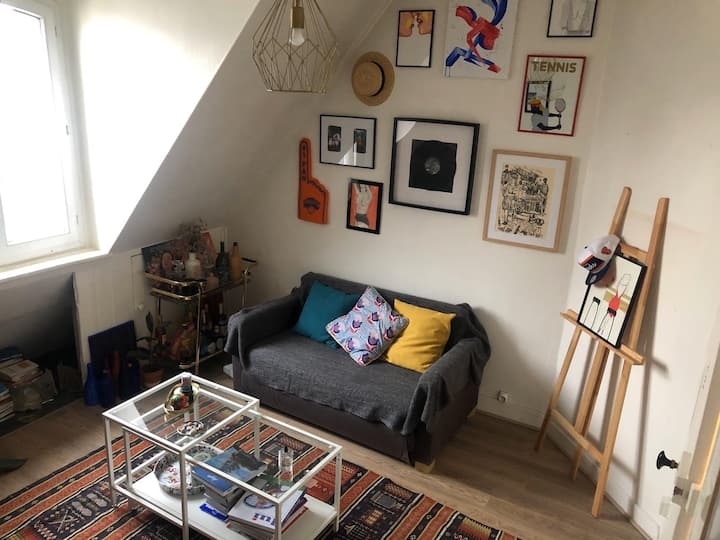 Calm and cosy flat in the heart of the 11th arr.