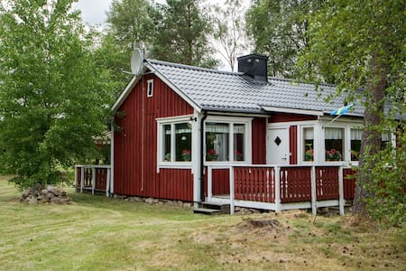 Cosy summer cottage in the Småland countryside - Ljushult - 小木屋