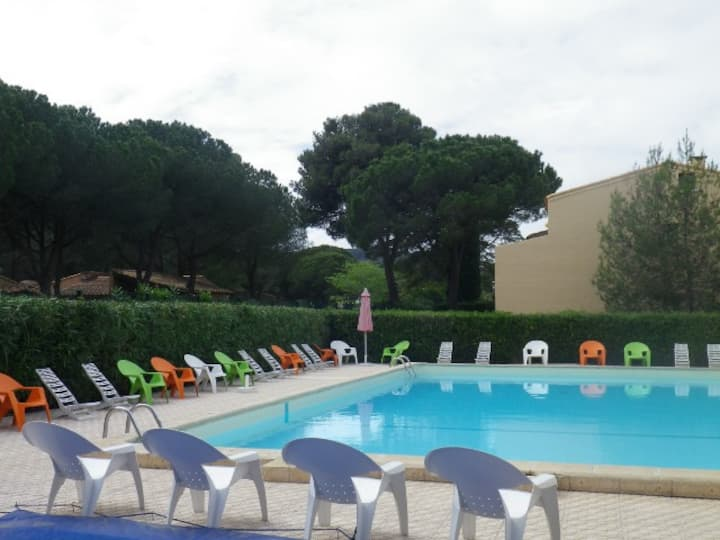 LARGE APARTMENT IN A CHARMING RESIDENCE WITH SWIMMING POOL AND TENNIS - AGDE CAP - ref IPA313
