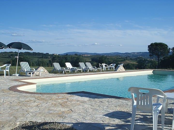 Villa - farmhouse in Chianti Hills