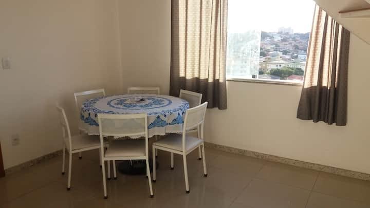 Apartamento 3 quartos ( tranquilo e silencioso)