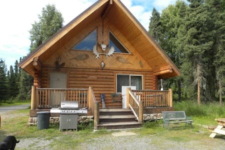 Two Bed Room Log Home Kenai River - Kenai