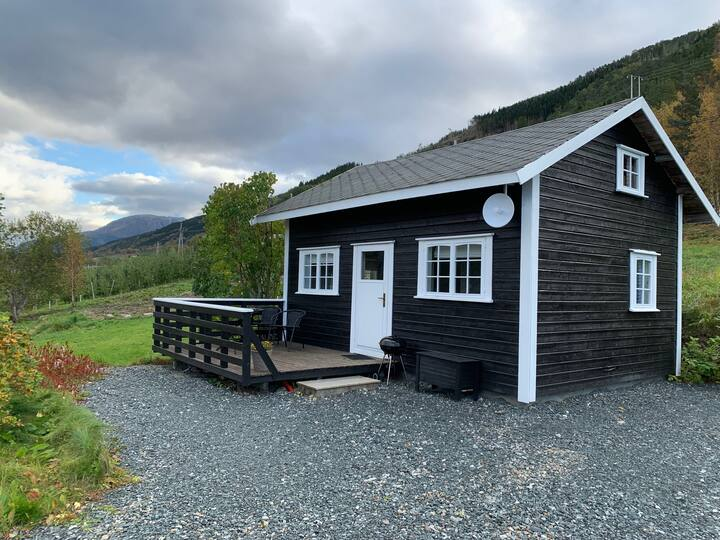 Small and cpzy cabin in beautiful Hardangerfjord