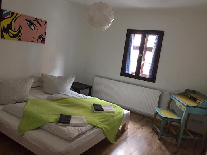 Doppelbettzimmer in Ferienwohnung (1)