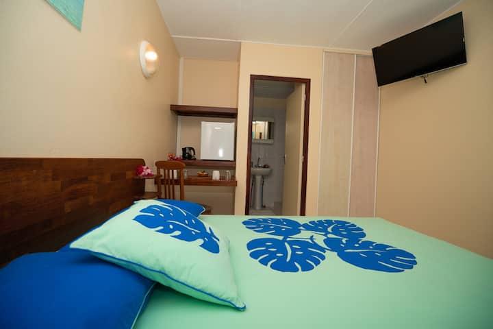 Bora Bora Holiday's Lodge - A/C-Chbr dbl/Sdb