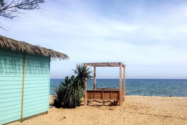 Logement cosy 350 m de la magnifique plage Stclair - Ле-Лаванду - Квартира