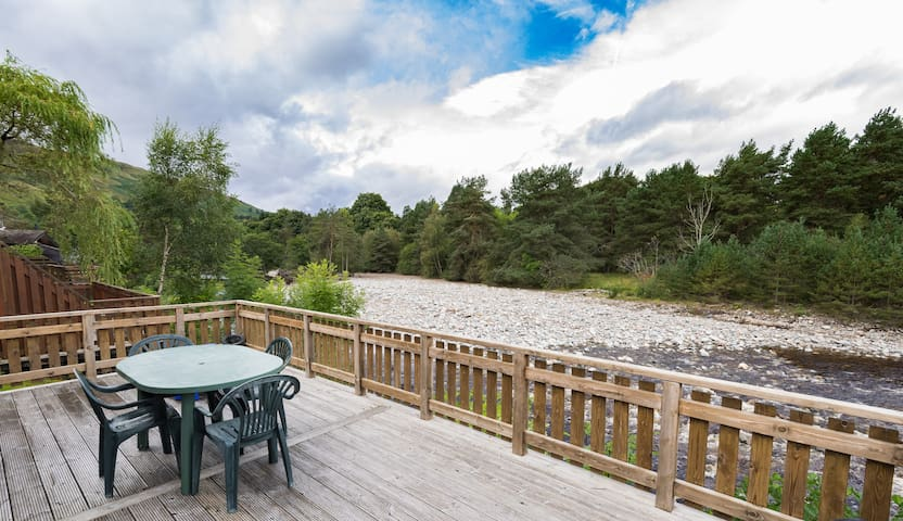 Riverside Lodge and Spa, sleeps 6, Blair Atholl - Bridge of Tilt - Chalupa