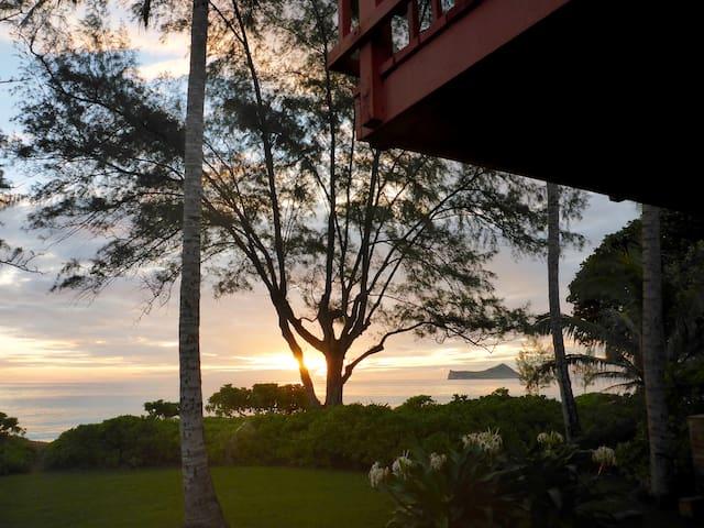 Hawaiian Sunrise Beach House