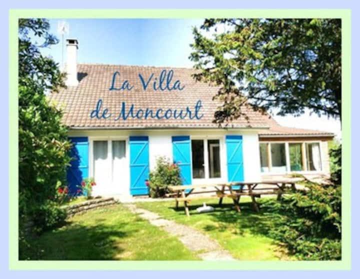 Villa de Moncourt - baie de somme - 16 personnes