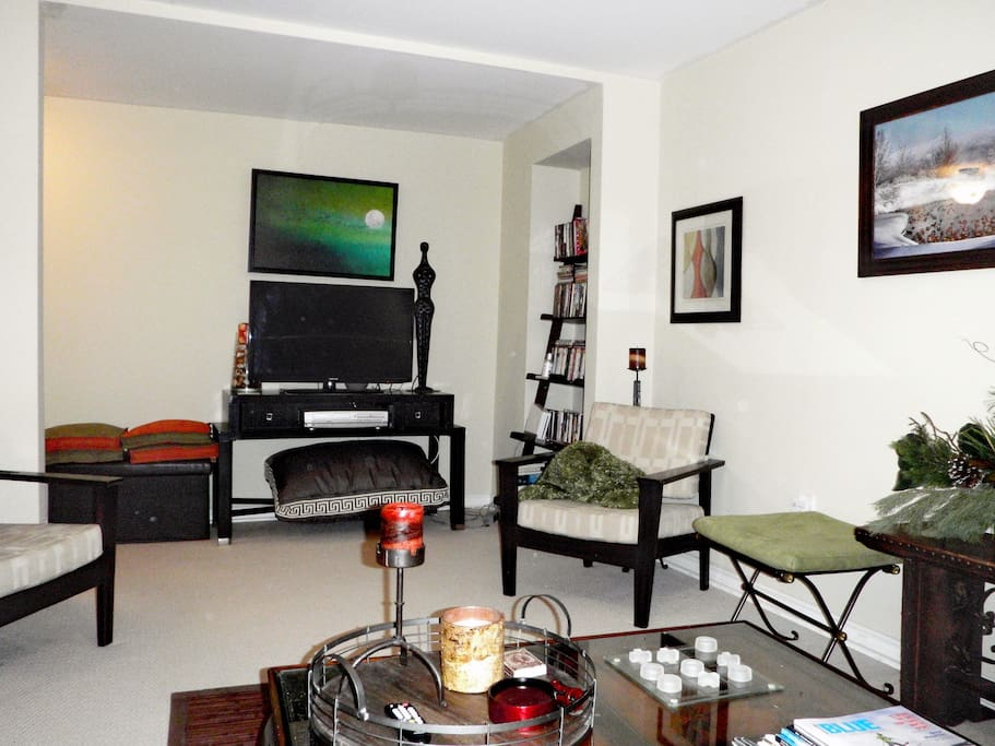 Complete w/ couches (one a pull-out), TV, DVD player and very homey