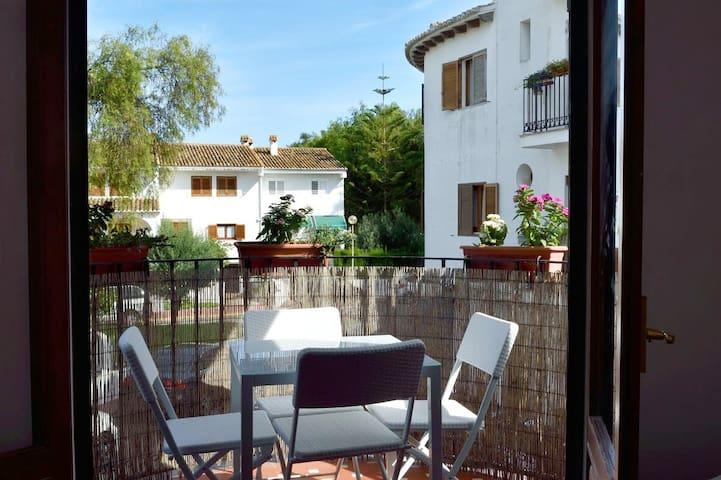 Terrace 100m del mar y15 min valencia+parking+WIFI