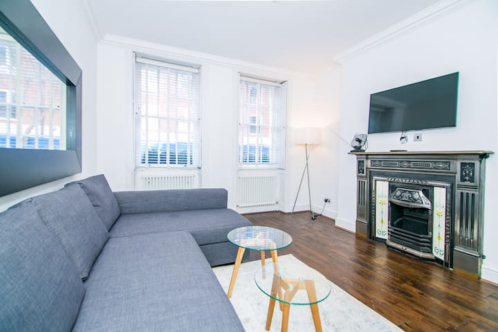 Spacious 2 bed - 2 bath apt in Russel square
