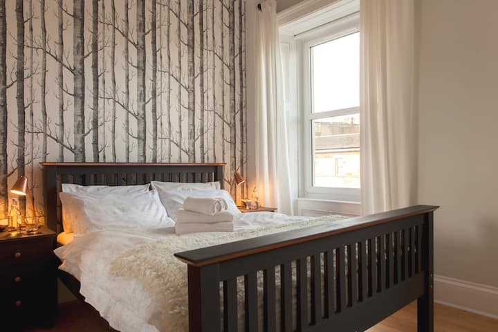 Stylish flat in Vibrant Leith - 10 mins. to Centre