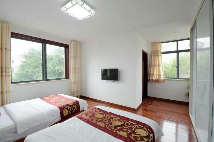 天目湖天悦阁湖景别墅(10人)〈可单间出租〉 - Changzhou - Villa
