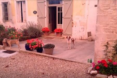 Maison Marguerite, Chives.