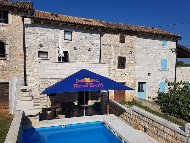 Stone House Istria private POOL & near POREC