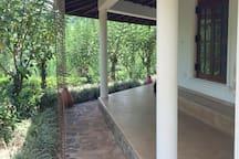 Covered verandah surrounding The Octagon