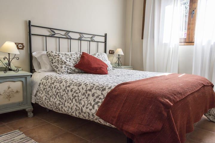 Habitación con baño privado en Casa Los Garridos