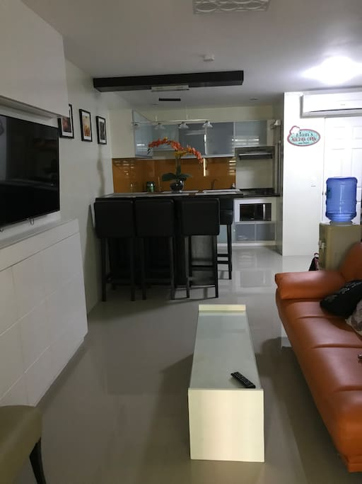 Sala, Dining and Kitchen