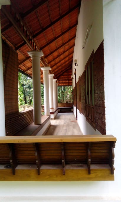 long Veranda (place for sitting infront of the house)