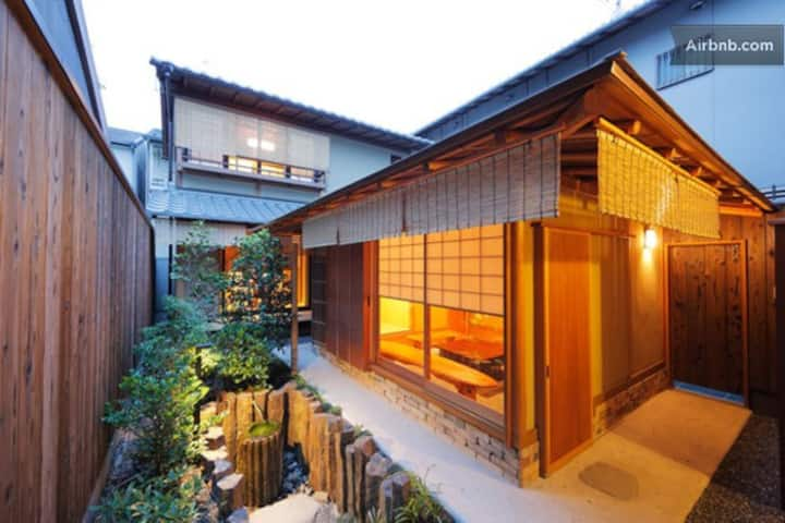 1&2:Kyoto MACHIYA with wood bath
