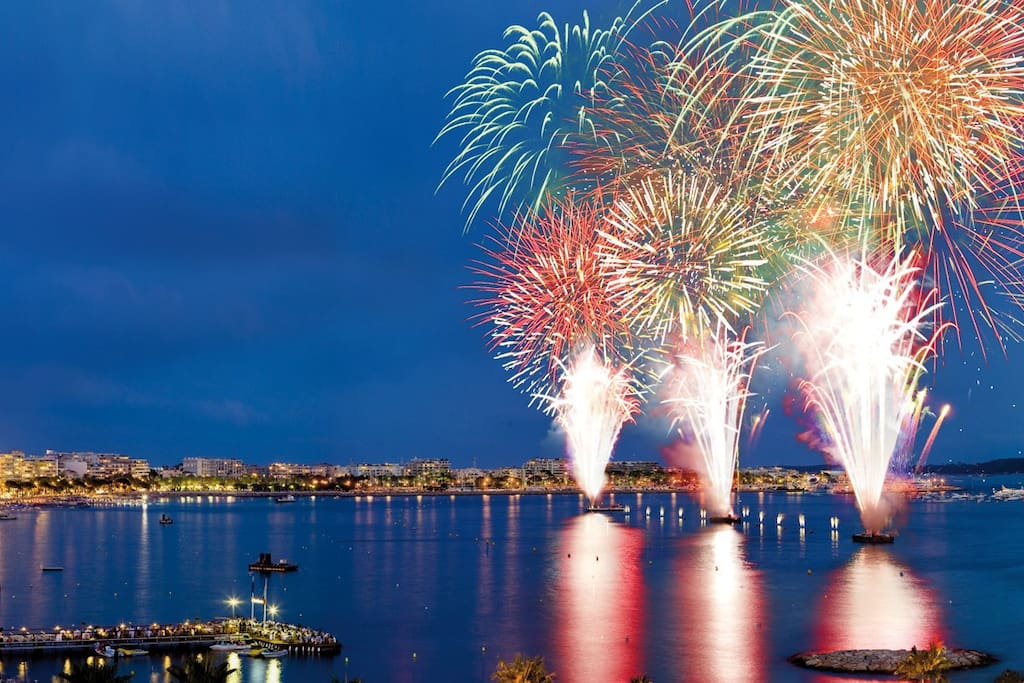 Fireworks Festival in July and August