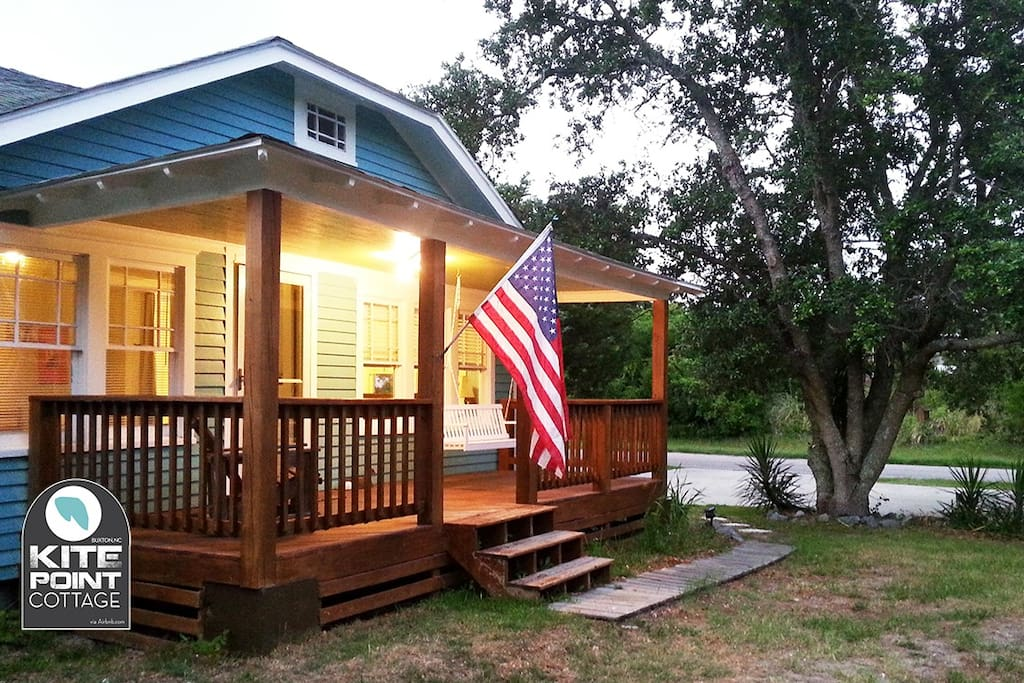 Kite Point Cottage is an Airbnb favorite for couples and quiet getaways.