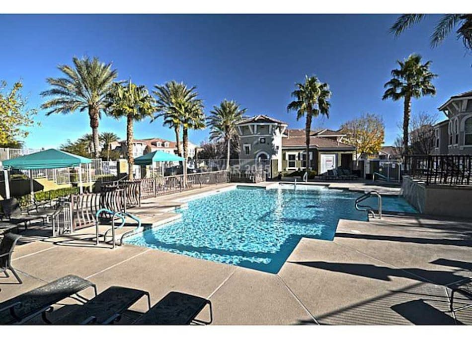 Gorgeous outdoor swimming *pool and year-round hot tub is the perfect place to work on your tan, read a book, relax with a drink or have the perfect barbecue. (Yes, there is a bbq area built in!) *Pool access is subject to weather and season.