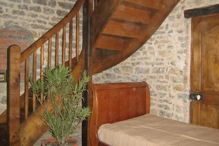 "La Chambre ""Coquelicots""  3 pers - Poissy - Bed & Breakfast"