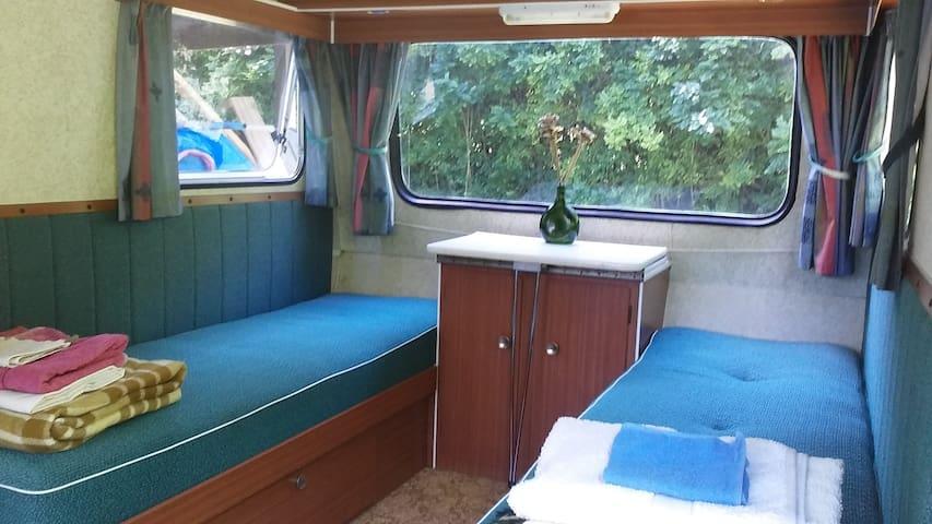 Lovely Vintage Caravan Stay