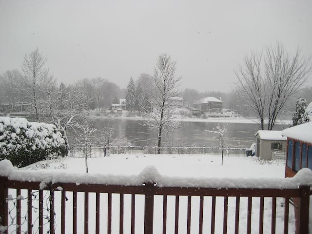 Winter View from Balcony