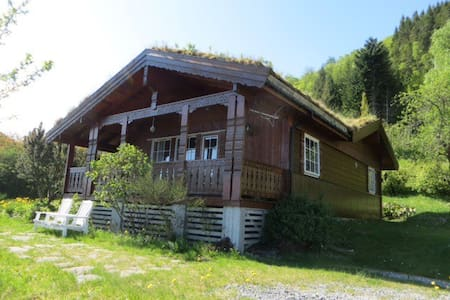 Cosy chalet, 100m2  with fjordview - Lauvstad